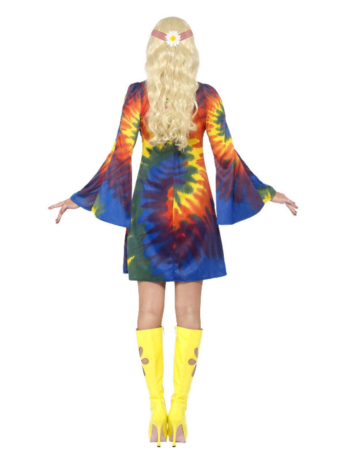 60 talls Hippie Karnevalkostyme Small