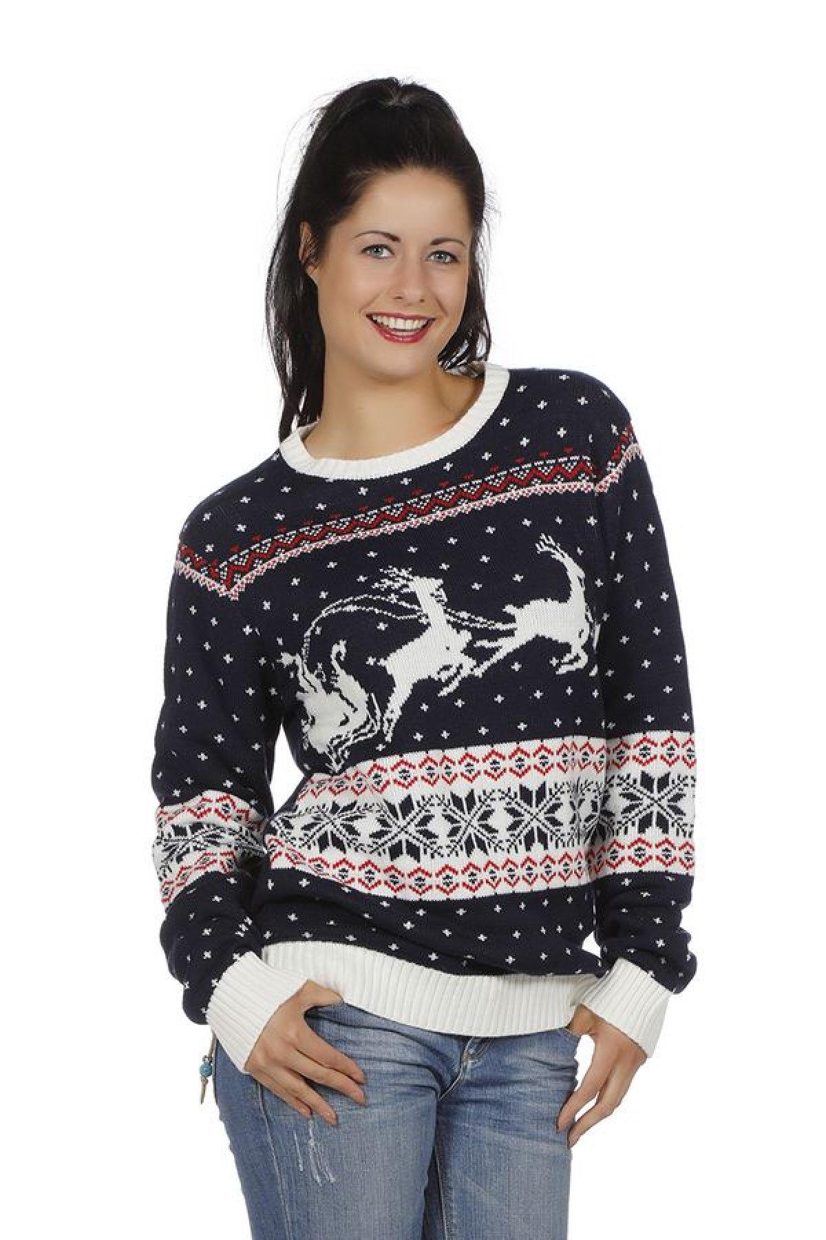 9d5f7cbf Kjøp Julegenser, blå kostyme Online - Nå kun 349 - Temashop.no