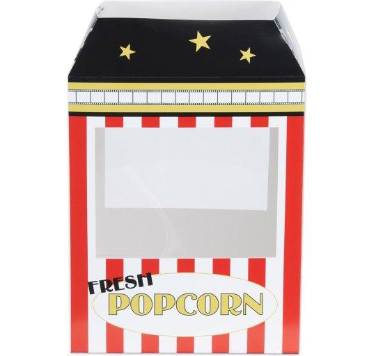 3D Popcornmaskine Borddekoration Festartikler
