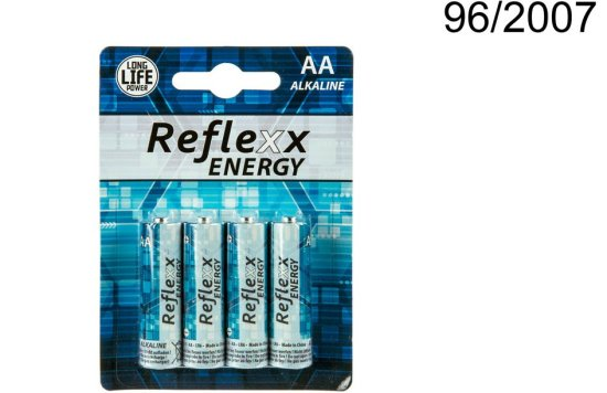 Alkaline-batterier AA Tilbeh?r