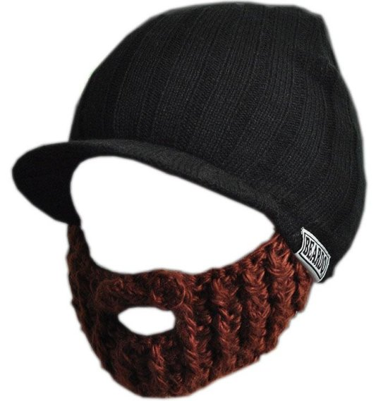 Beardo Cap, Brunt Skjegg Tilbeh?r