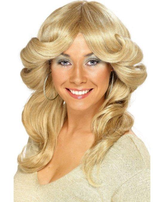 Blond 70-tallsparykk Tilbeh?r