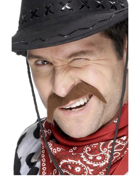 Cowboybart, brun Tilbeh?r