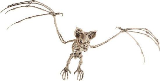 Flaggermus skjelettfigur Festartikler