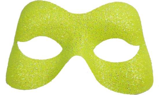 Glittermaske, gul Tilbeh?r