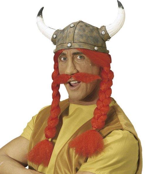 Obelix-hjelm med haar Tilbeh?r