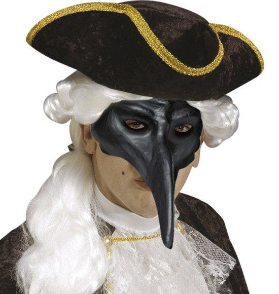 Venetiansk maske, svart Tilbeh?r