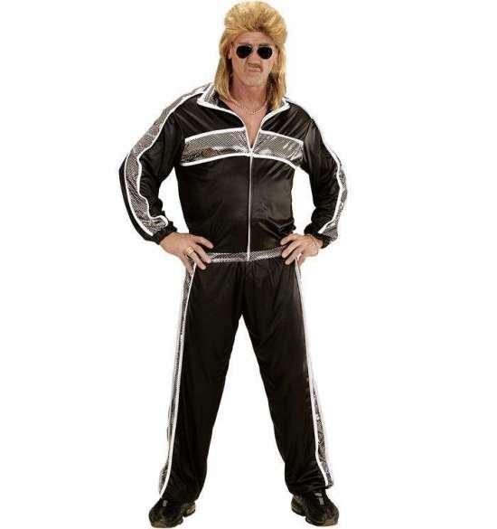 80-talls treningsdrakt, svart Kostymer