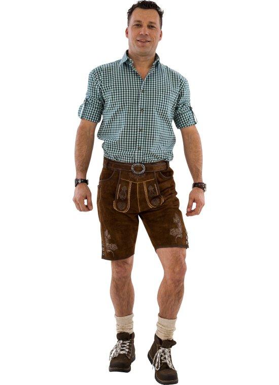Ekte Lederhosen, M?rkebrun Kostymer