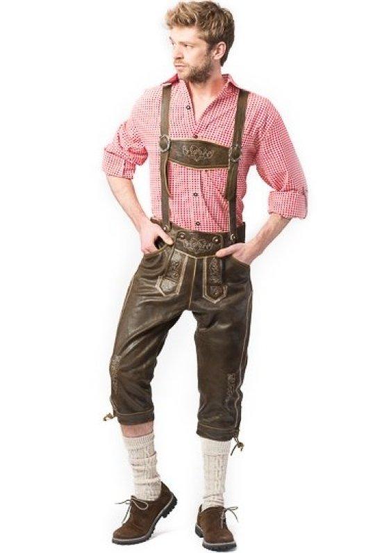 Ekte Retro Lederhosen Kostymer