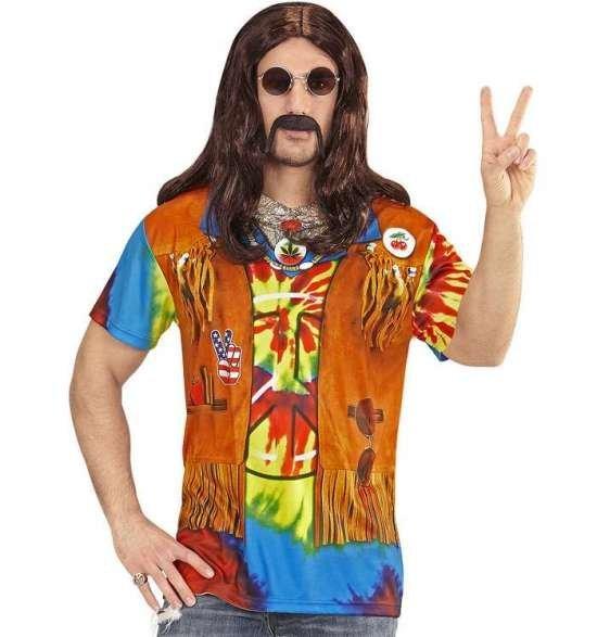 Hippie t-skjorte Kostymer