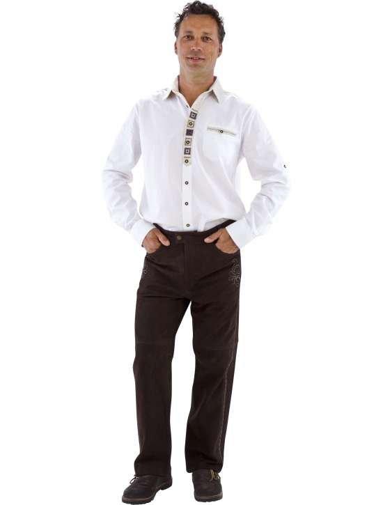 Lange Ekte Lederhosen Kostymer