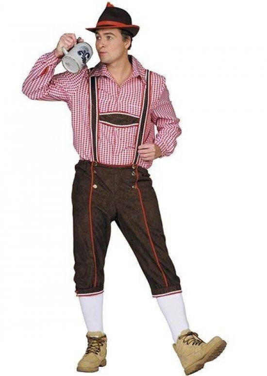 Lederhosen, brune Kostymer