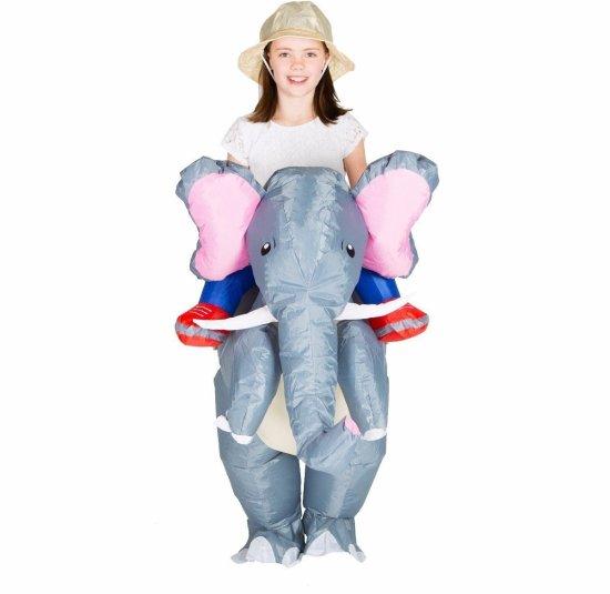 Oppblaasbar Elefant Kostymer