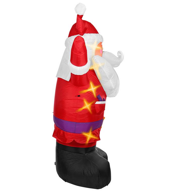 Kjøp Stor oppblåsbar julenisse Online Nå kun 1259