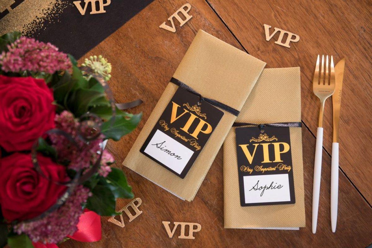 Kjøp Bordkort VIP Online - Nå kun 49 - Temashop.no