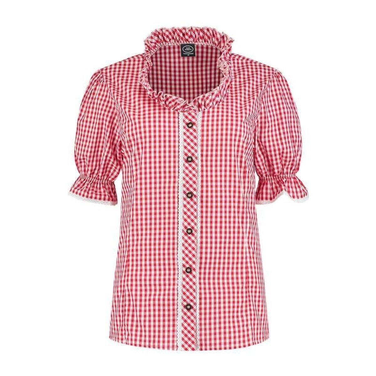 Kjøp Tyrolerskjorte RødHvit Online Nå kun 309 Temashop.no