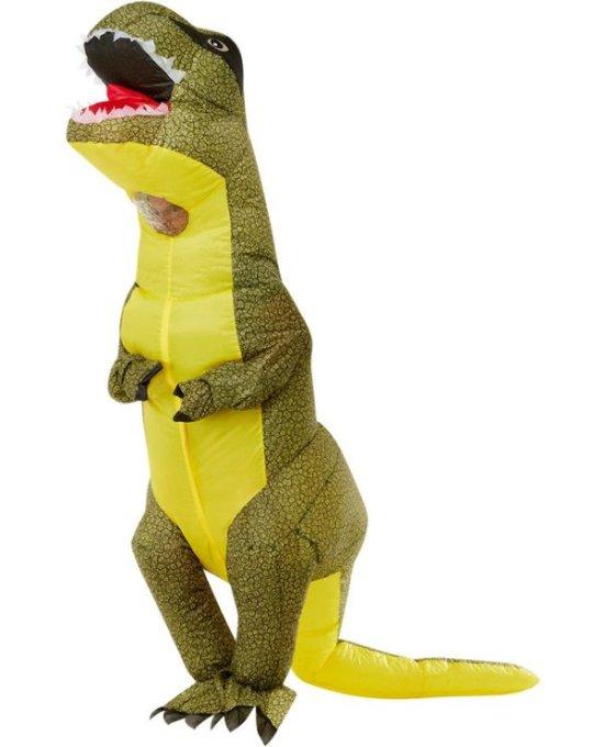 Oppblaasbar T-Rex Kostyme Kostymer
