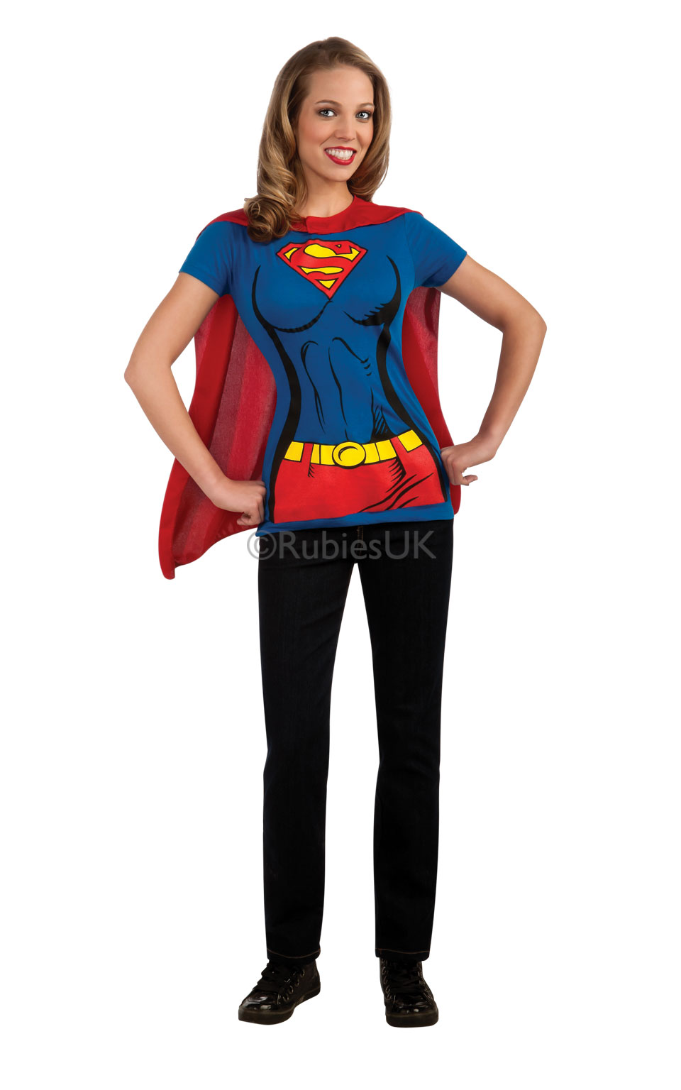Kjøp Supergirl T skjorte Online Nå kun 439 Temashop.no