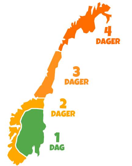 Leveringskort i Norge